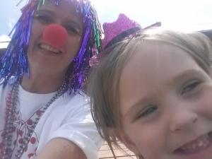 The clowns